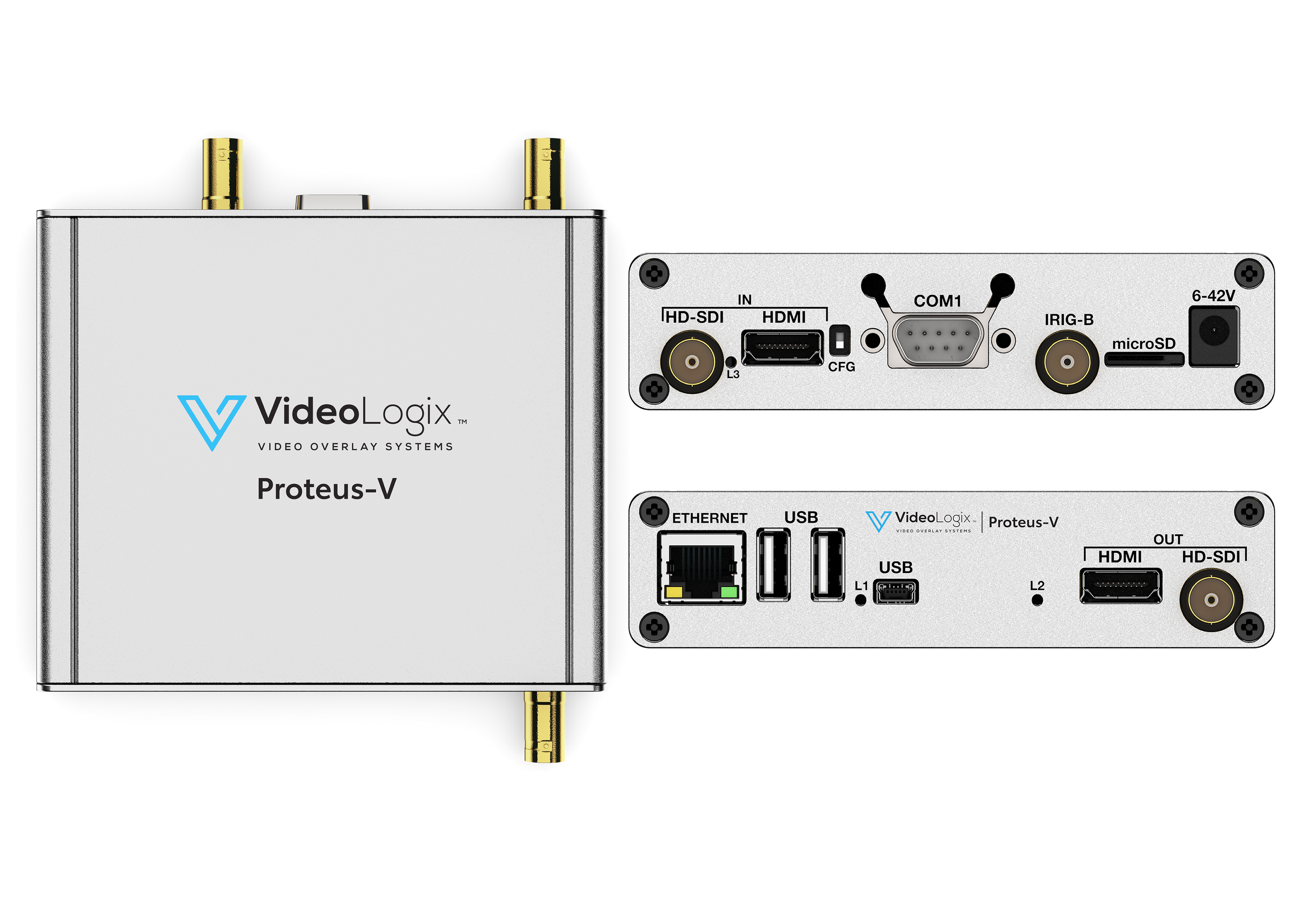 HD Video Overlay Device, HD-SDI, HDMI OSD | Proteus